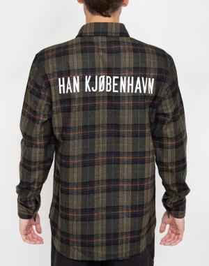 Košile Han Kjøbenhavn Army Shirt