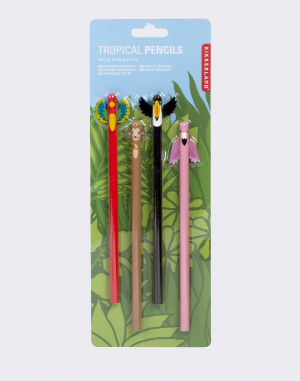 Kikkerland - Tropical Pencils