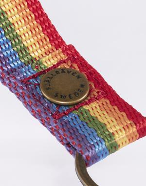 Klíčenka - Fjällräven - Kanken Rainbow Keyring