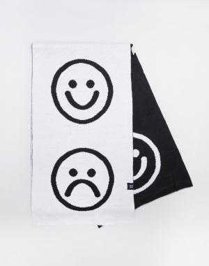 Šála Lazy Oaf Monochrome Happy Sad Scarf