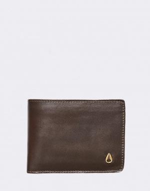 Peněženka Nixon Cape Leather Slim