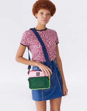 Lazy Oaf - Colour Block Shoulder Bag