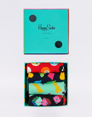 Happy Socks - Game Night Gift Box