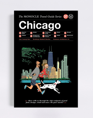 Kniha Gestalten Chicago: The Monocle Travel Guide Series