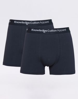 Knowledge Cotton - 2 Pack Solid Colored Underwear...