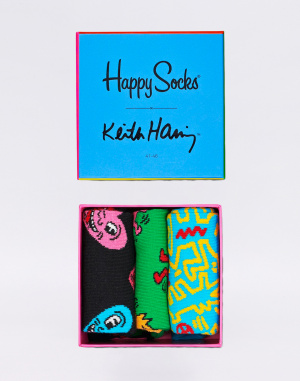 Happy Socks - Keith Haring Gift Box