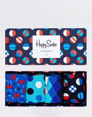 Happy Socks - Navy Gift Box