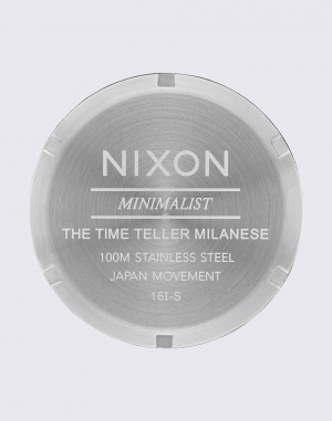 Watch Nixon Time Teller Milanese