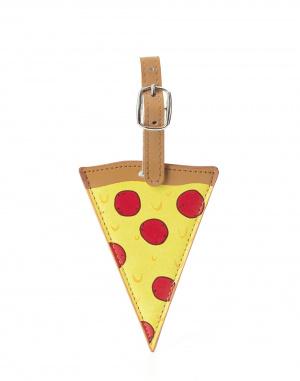 Cestovní gadget Kikkerland Pizza Luggage Tag