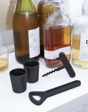 Kikkerland - Cast Iron Bar Set