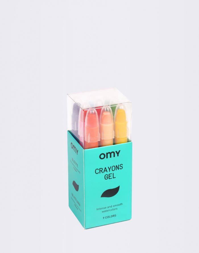 OMY - 9 Gel Crayons