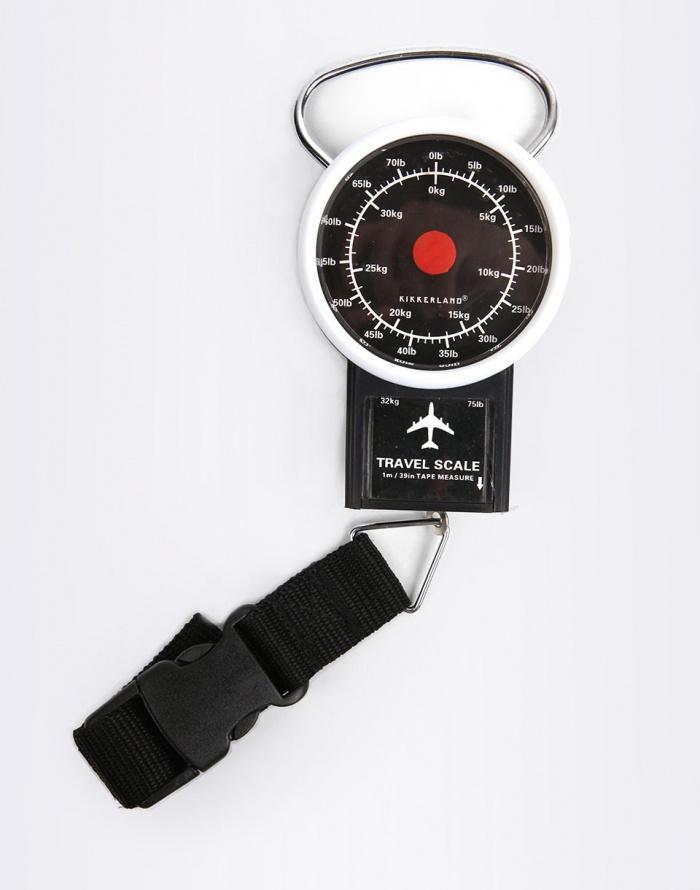 Cestovní gadget - Kikkerland - Travel Luggage Scale