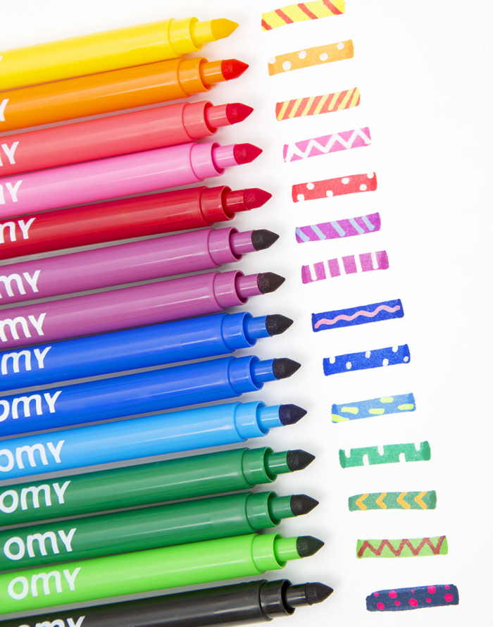 Omy - 16 Magic Felt Pens