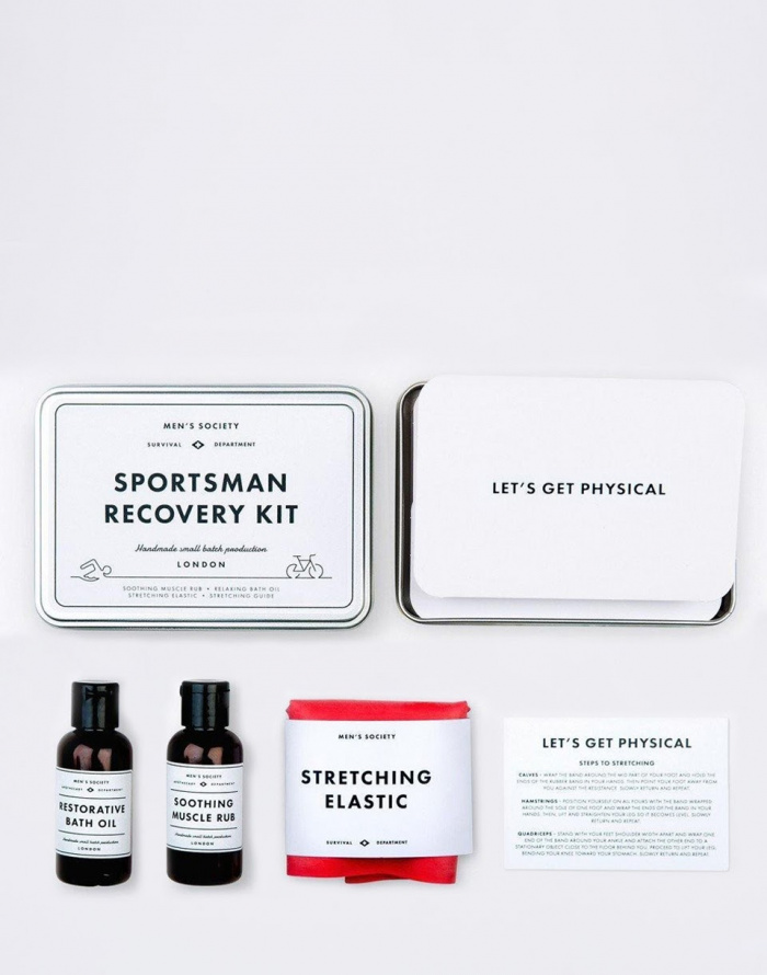 Kosmetika - Men's Society - Sportsman Recovery Kit