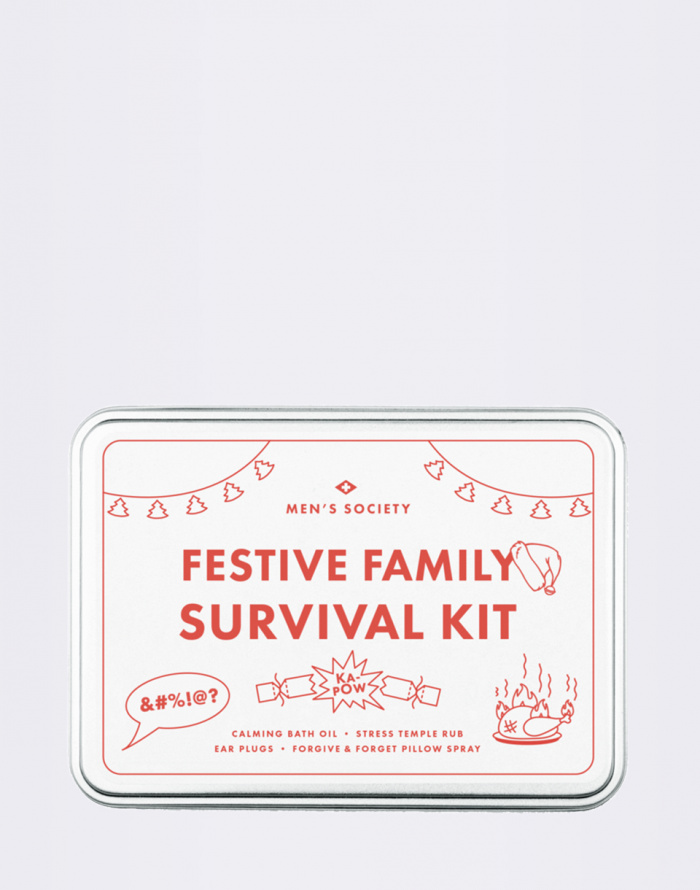 Kosmetika - Men's Society - Festive Family Survival Kit