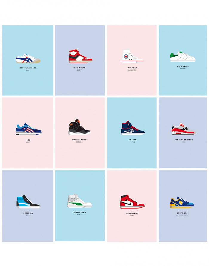 Dárkový set - Image Republic - Le Duo Sneakers