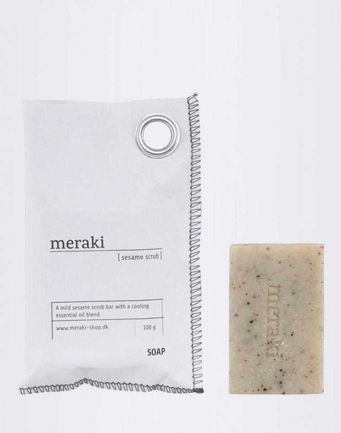 Kosmetika - meraki - Hand Soap Sesame Scrub