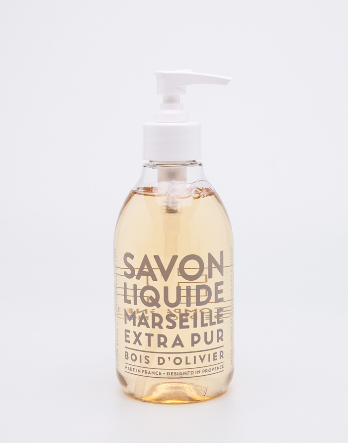 Kosmetika - Compagnie de Provence - Tekuté mýdlo - Olivové dřevo