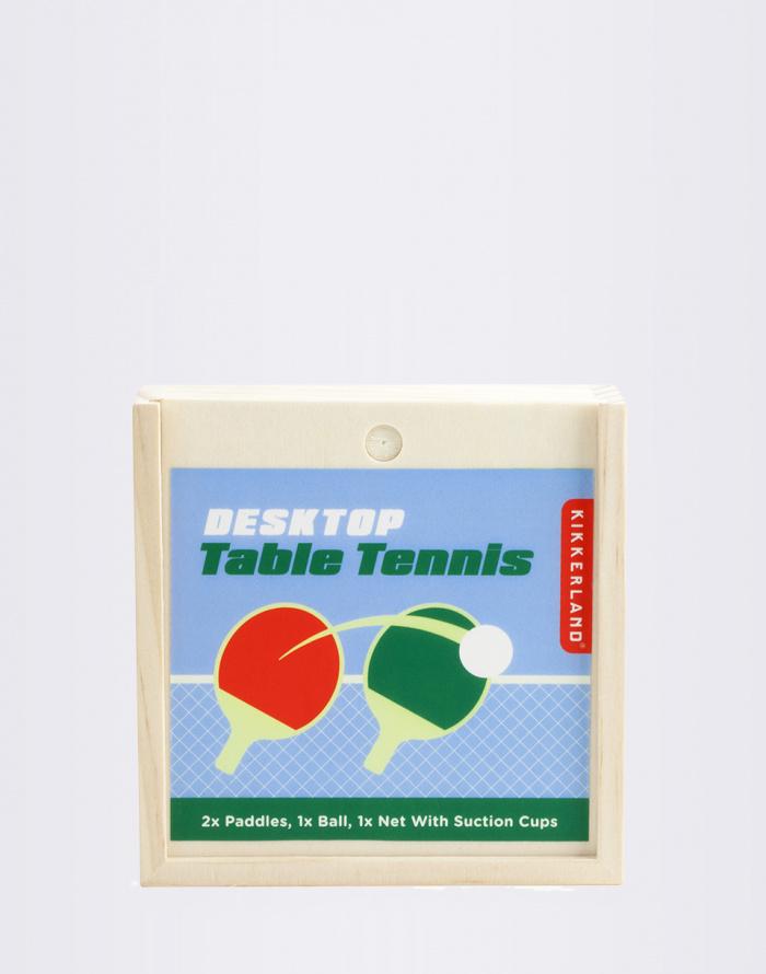 Gift - Kikkerland - Desktop Table Tennis