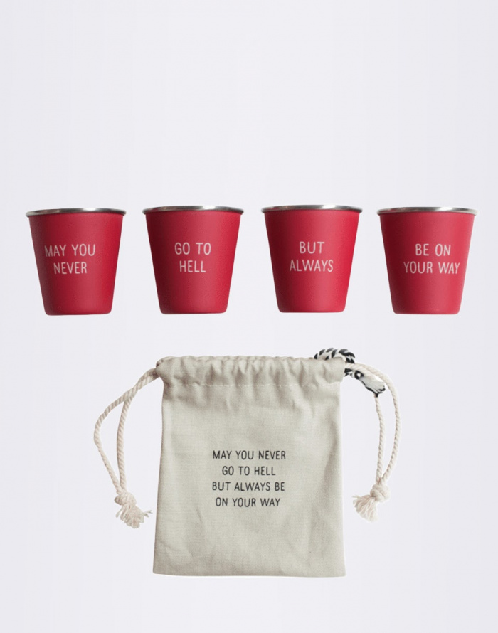 Gift Pack - Men's Society - Nested Shot Glasses