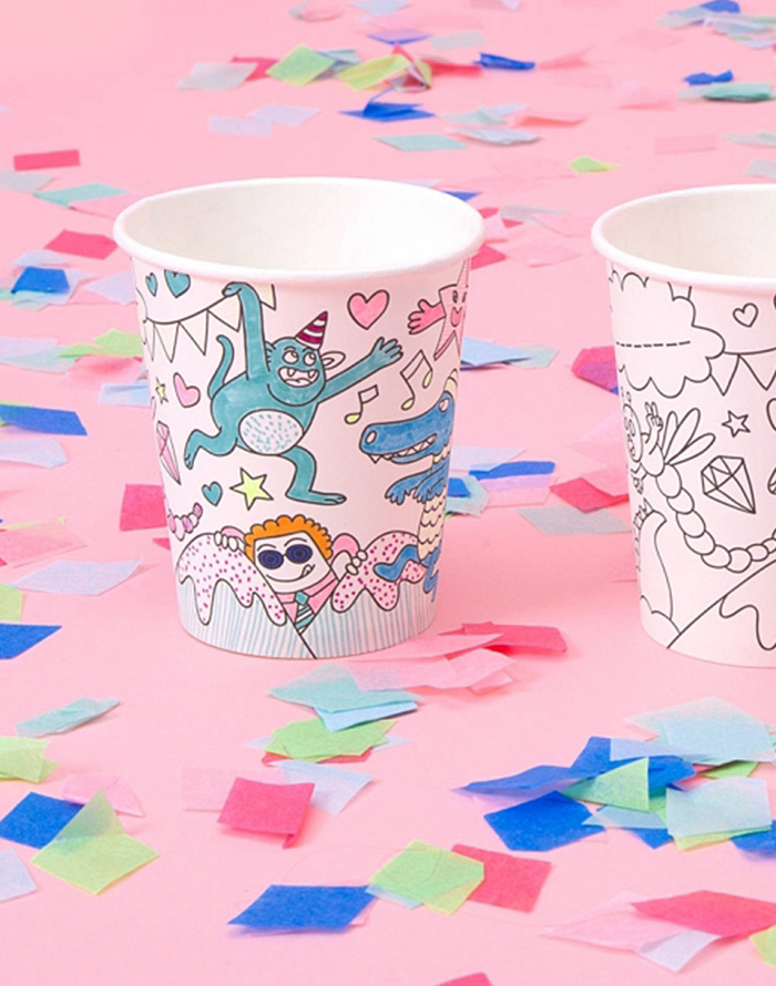 Paper Gift - OMY - 8 Paper Cups
