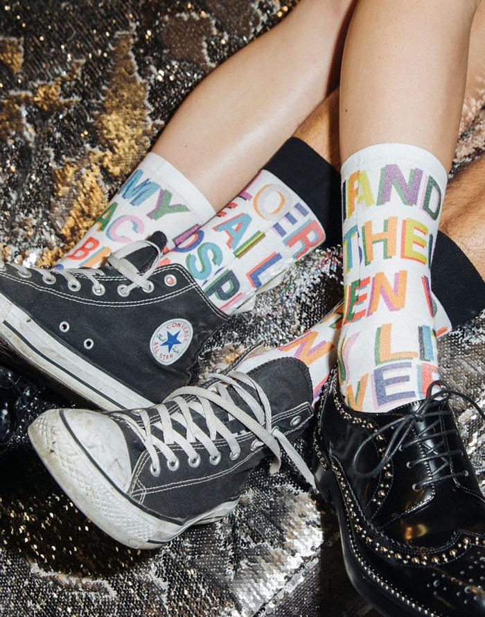 Ponožky - Stance - Libertine Love Letters