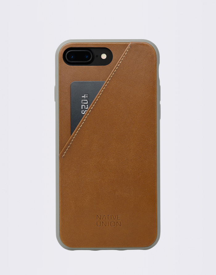 Pouzdro Native Union Clic Card iPhone 7+/8+