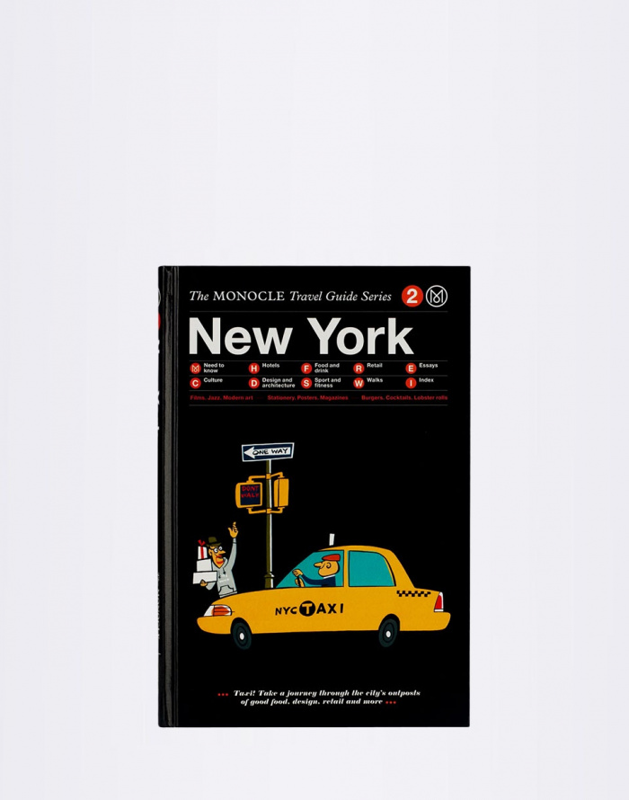 Kniha Gestalten New York: The Monocle Travel Guide Series