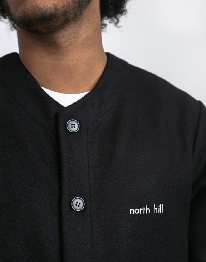 Jednobarevné North Hill Wool Baseball Jersey