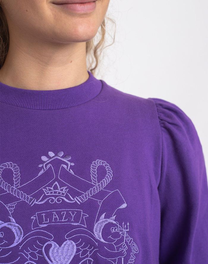 Sweatshirt Lazy Oaf Land Of Lazy Sweatshirt