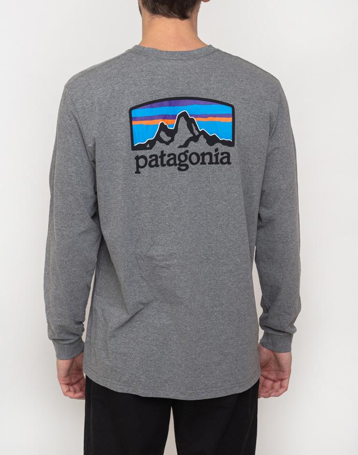 Triko Patagonia L/S Fitz Roy Horizons Responsibili-Tee