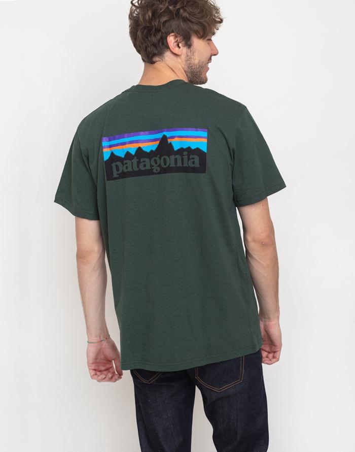 Triko Patagonia P-6 Logo Pocket Responsibili-Tee
