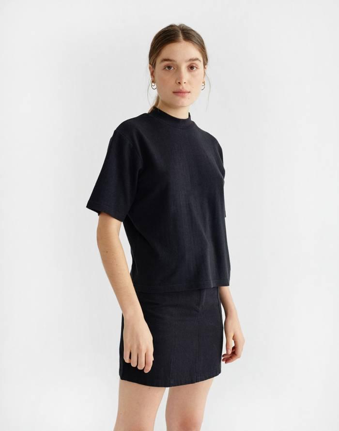 Triko Thinking MU Black Hemp Aidin T-shirt