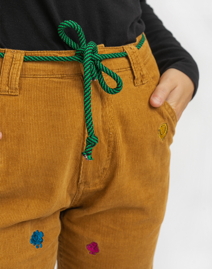 Kalhoty - Lazy Oaf - Mr Men Cord Pants
