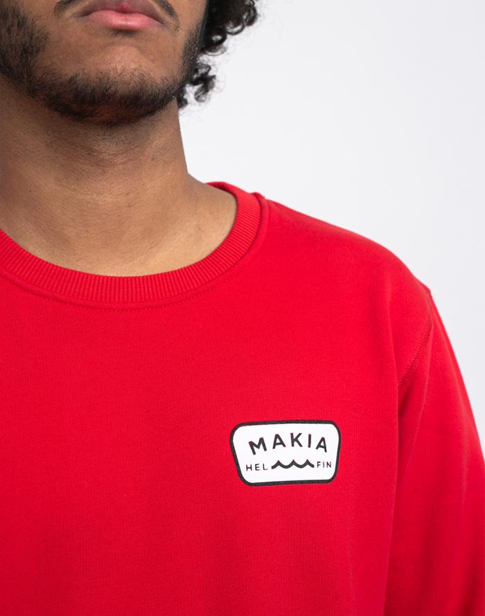 Mikina Makia Emblem Sweatshirt