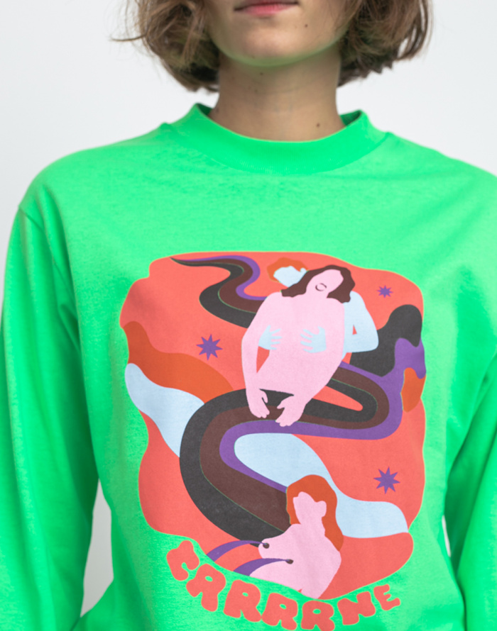 T-Shirt Carne Bollente The Milky Way