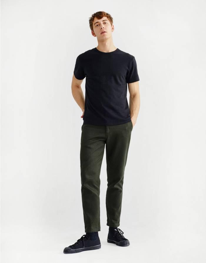 Triko Thinking MU Basic Black Hemp T-Shirt
