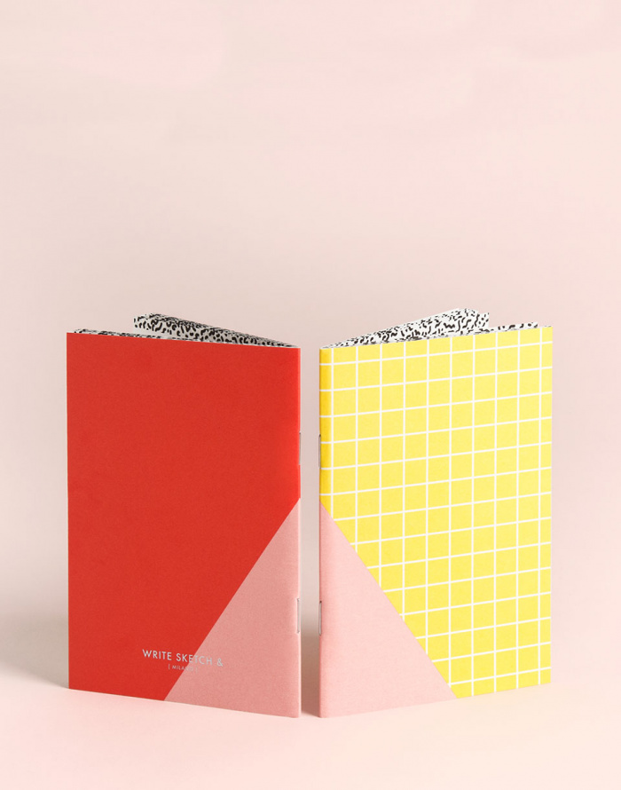 Dárkový set - Write Sketch & - A6 Tile