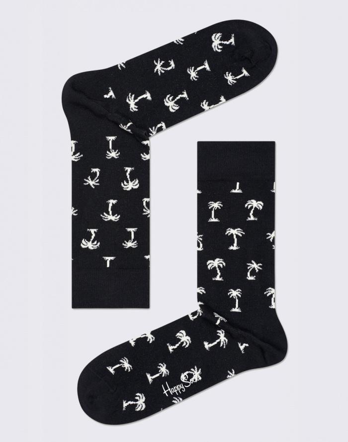Ponožky - Happy Socks - Black & White Gift Box