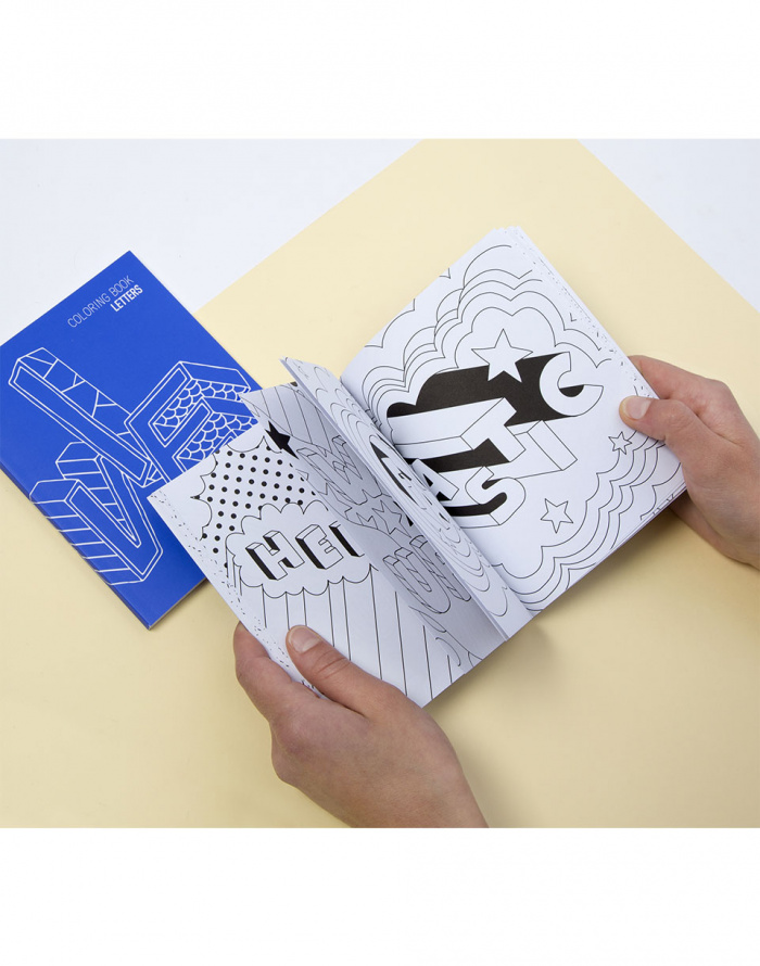 OMY - Coloring Notebooks - Letters