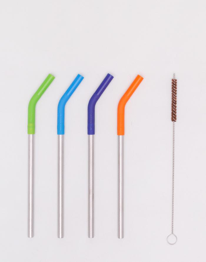Do kuchyně - Klean Kanteen - Steel Straws - 4 Pack