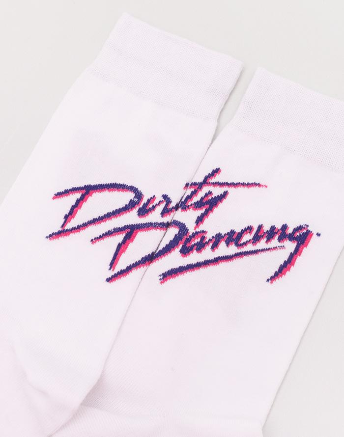 Ponožky - Dedicated - Dirty Dancing Logo