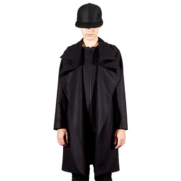 Kabát - Odivi - Black coat  2c1d9a5944