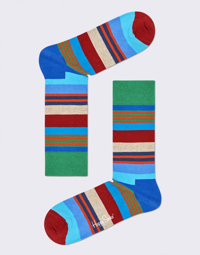 Ponožky - Happy Socks - Multi Stripe