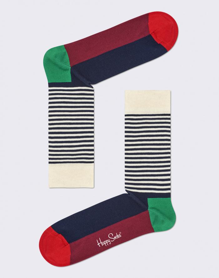 Ponožky - Happy Socks - Half Stripe