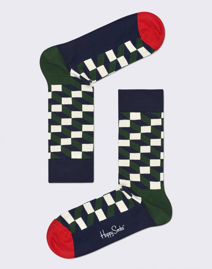 Ponožky - Happy Socks - Filled Optic