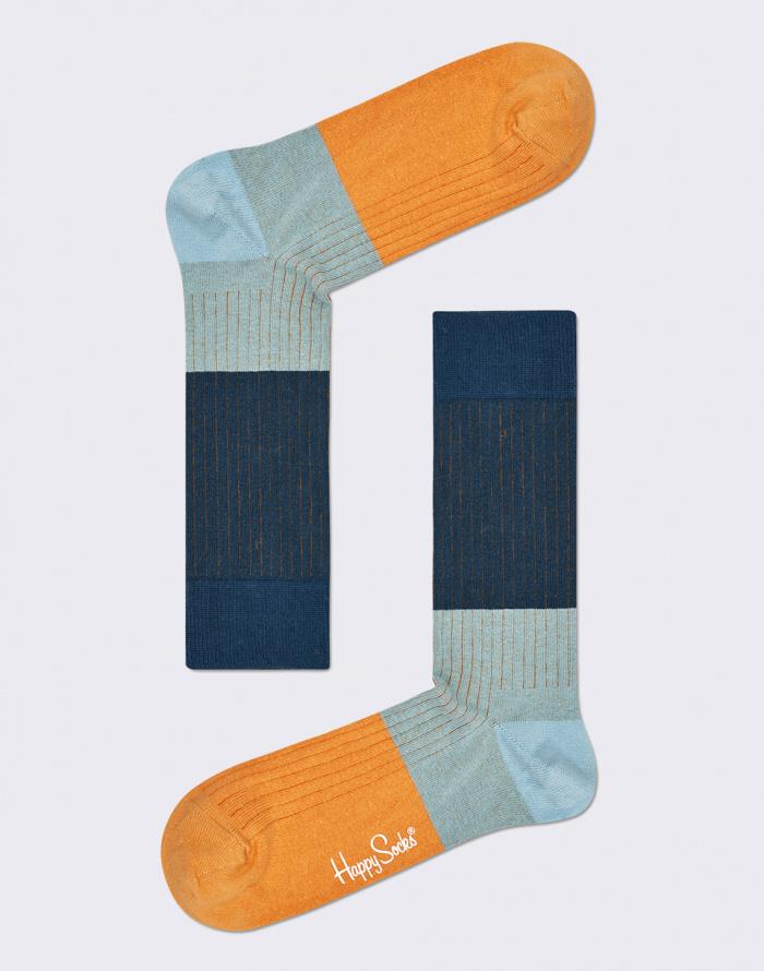 Ponožky - Happy Socks - Block Rib