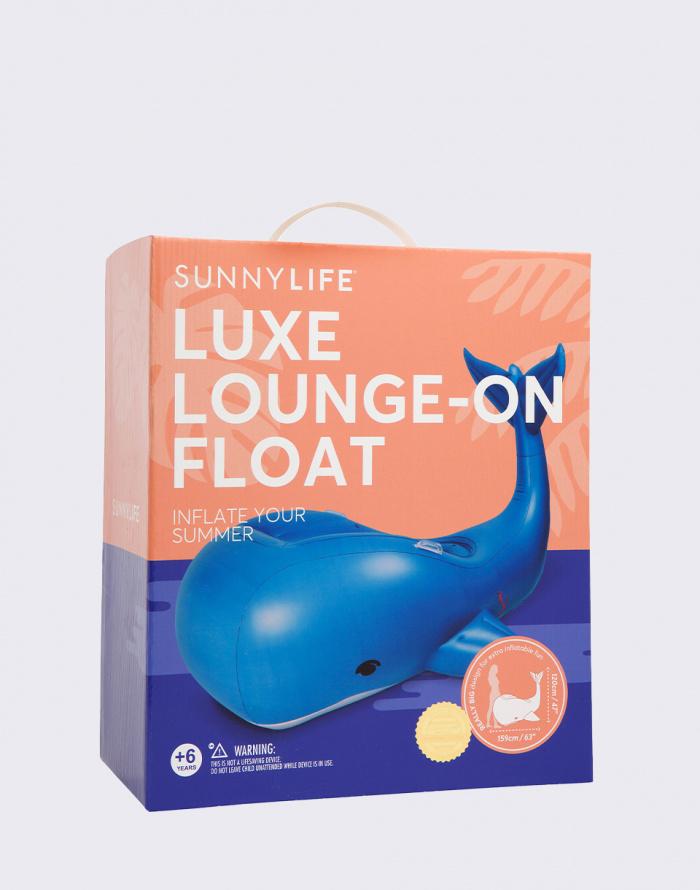Nafukovačka - Sunnylife - Luxe Lounge-On Float Moby Dick