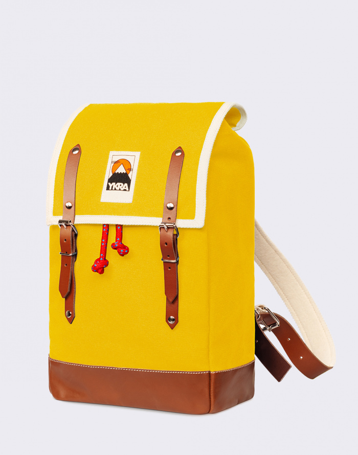 Batoh - YKRA - Matra Mini Leather Strap & Bottom