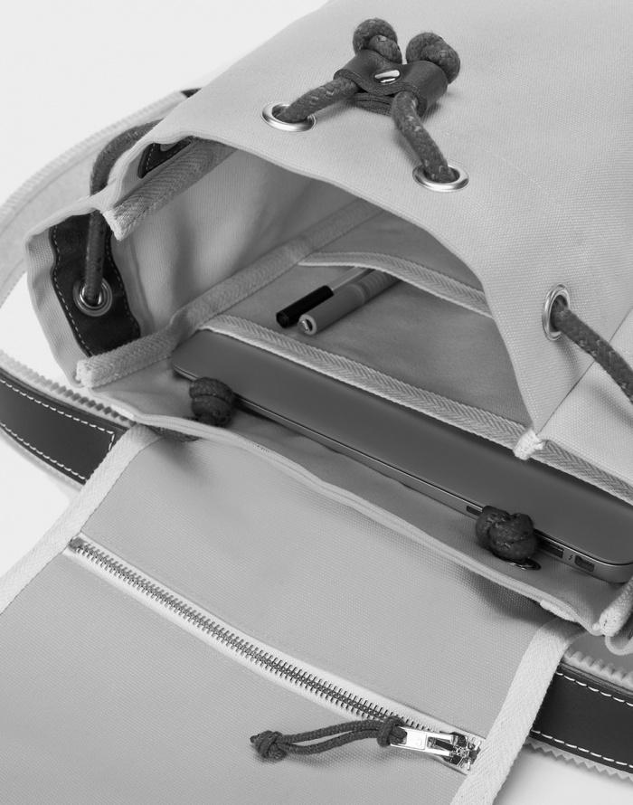 Batoh - YKRA - Matra Mini Leather Strap & Bottom
